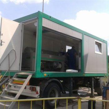 Stacje odwadniania kontenerowe i mobilne