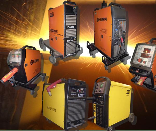 Urządzenia do spawania metodami TIG, MIG/MAG, FCAW, spawanie aluminium