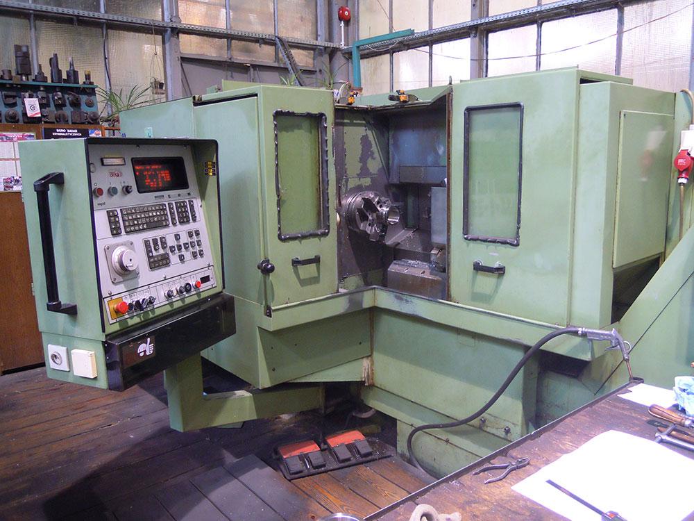 Automat tokarski CNC GILDEMEISTER GD200 – 4A