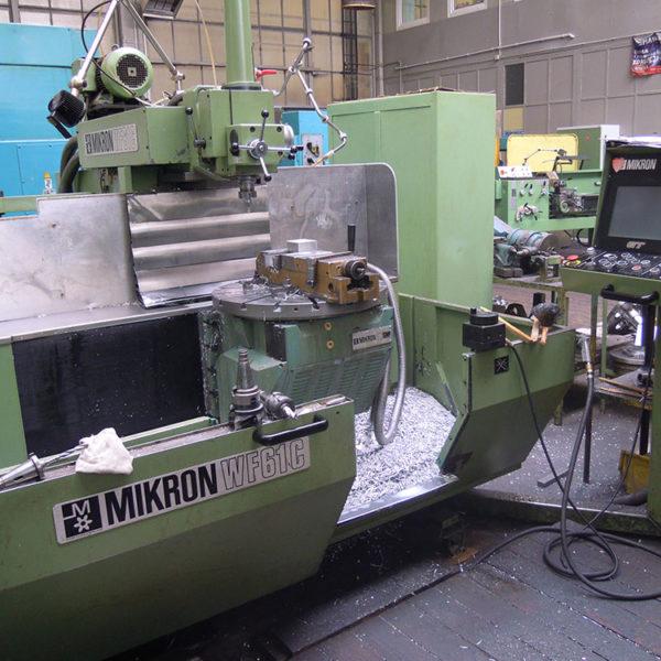 Frezarki sterowane numeryczne CNC Mikron WF 61 C