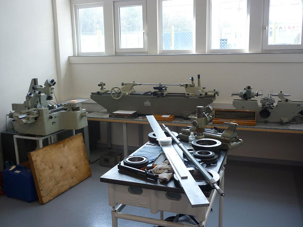 laboratorium do przeprowadzania kalibracji osprzętu pomiarowego
