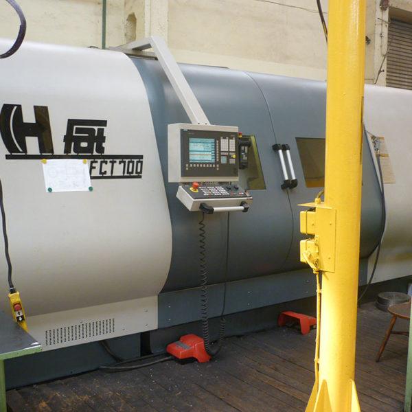 Tokarka FAT FCT 700 CNC