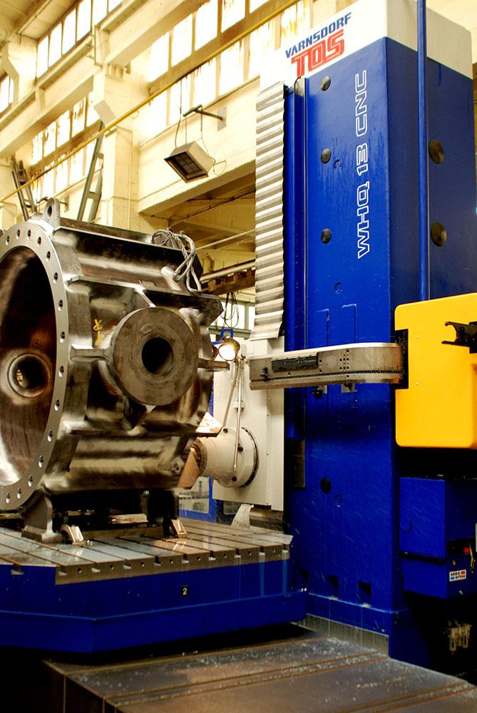 Wiertarko-frezarko-wytaczarka TOS WHN (Q) 13 CNC