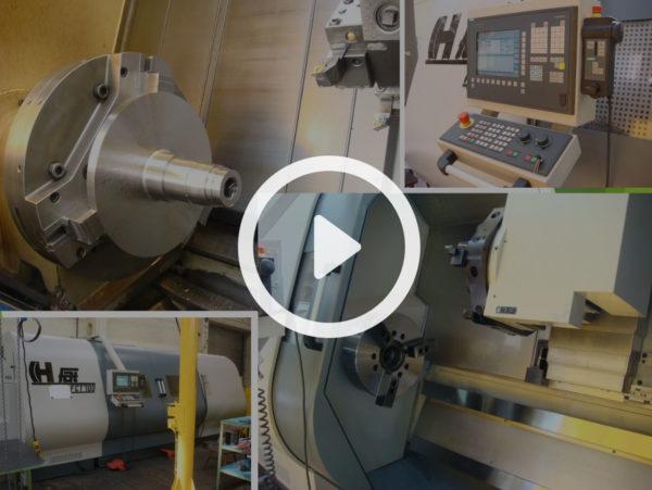 Prezentacja poświęcona produkcji nowych i remontów używanych wirówek.