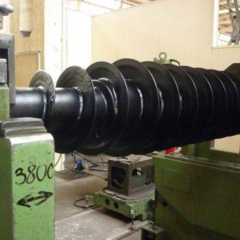Spomasz – Wronki przeprowadził remont ślimaka di wirówki Hiller CP3044.