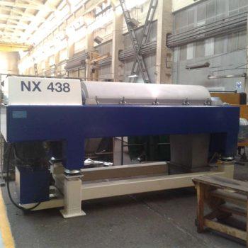 Spomasz-Wronki zakończył remont kapitalny wirówki Alfa Laval NX438 dla klienta z Danii