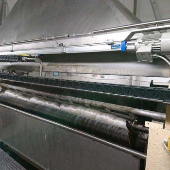 Projekt Systemu Rozprowadzania Płynnej Nadawy na Suszarkach Walcowych