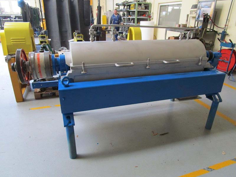 Renovation of a STNX 418 Type Horizontal Decanter Centrifuge Manufactured by Alfa Laval