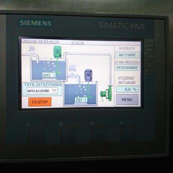 Stacja Przygotowania, Magazynowania i Dozowania Płynnych Roztworów Polielktrolitów z Emulsji