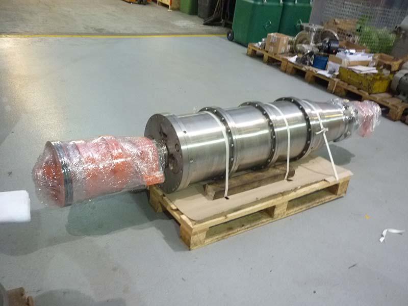 ремонт блока центрифуги Alfa Laval RTA 518