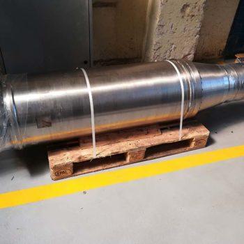 Spomasz wykonał remont generalny zespołu wirującego wirówki Alfa Laval NX4451