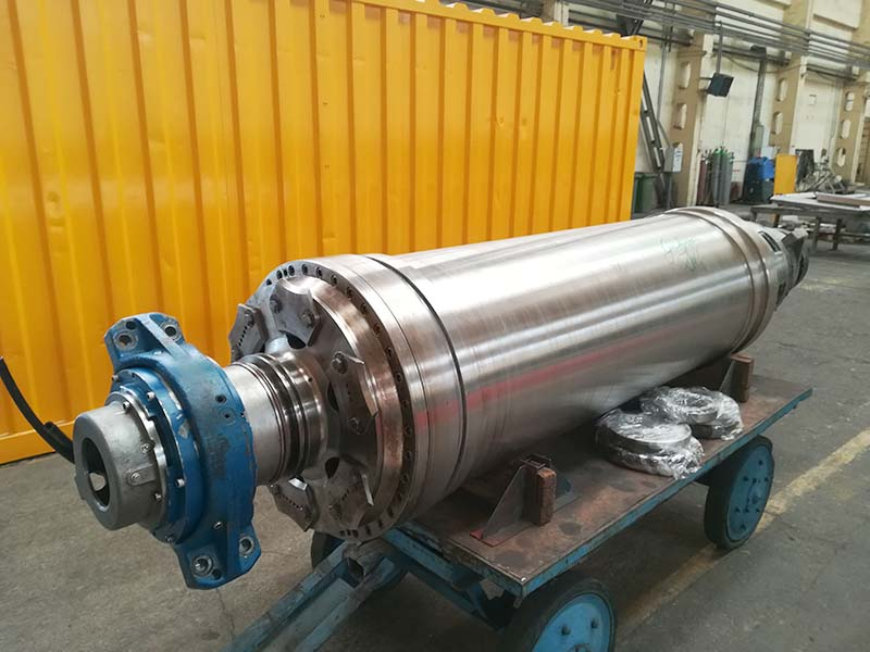 Major repair of a Flottweg Z6E centrifuge rotating unit