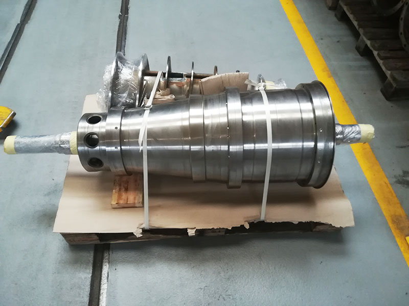 Repair of a Pieralisi FP 600 centrifuge rotating unit