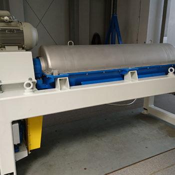 Spomasz wykonał remont generalny wirówki dekantacyjnej poziomej typ W1D 452 własnej produkcji dla klienta krajowego.