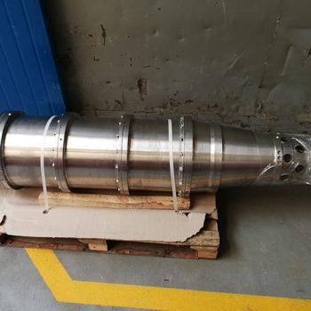 Spomasz Wronki wykonał remont generalny zespołu wirującego wirówki Alfa Laval NX 418