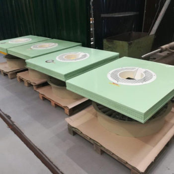 Spomasz Wronki wykonał remont generalny wentylatorów dla klienta krajowego.