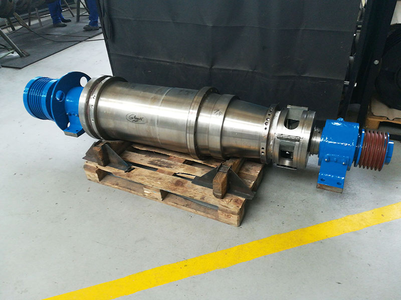 Repair of the AWP 40 3.6 type centrifuge rotating unit