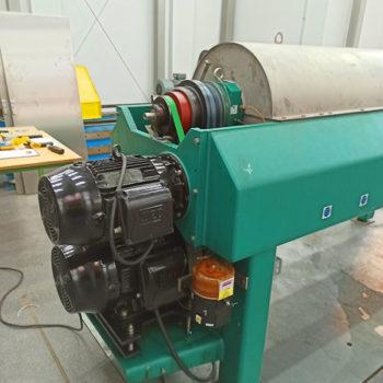 Spomasz wykonał remont generalny wirówki dekantacyjnej poziomej typ GEA Vestfalia UCD 345 dla klienta krajowego