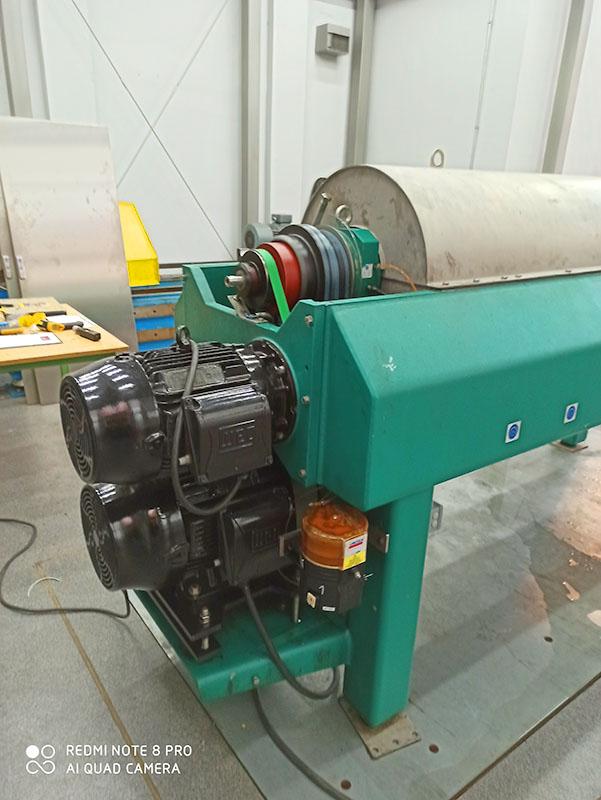 капитальный ремонт декантационной центрифуги тип GEA Vestfalia UCD 345