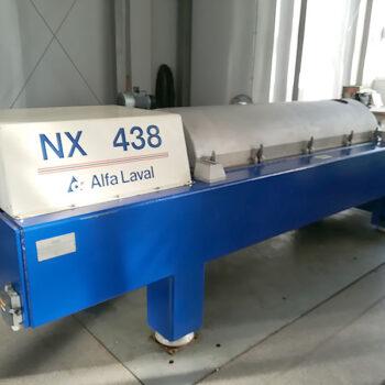 Remont bieżący wirówki dekantacyjnej poziomej Alfa Laval typ NX 438