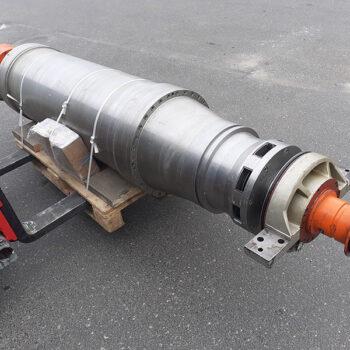 remont bieżący zespołu wirującego wirówki dekantacyjnej poziomej Alfa Laval typ STNX438